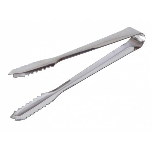 Stainless Steel Ice Tongs 7""