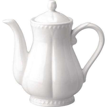 Churchill Buckingham White Coffee Pots 1136ml - Ca239 (Box of 24)