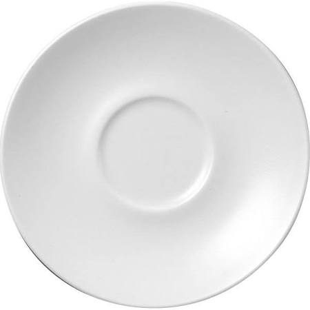 Churchill Plain Whiteware Saucers 160mm P884 (Box of 24)