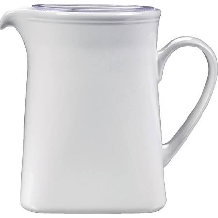 Churchill Vitrified Counter Serve - 52.8oz Square Jug (Box of 2)