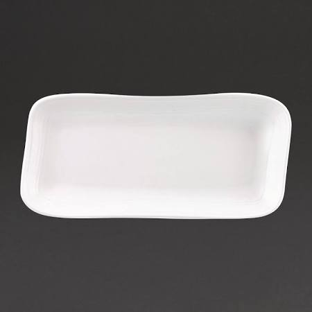 Churchill Discover Rectangular Plates White 337 x 175mm (Box of 6)