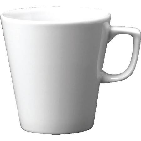 Churchill Plain Whiteware Cafe Latte Mugs 340ml W002 (Box of 12)