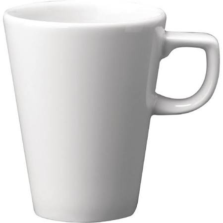 Churchill Beverage Cafe Latte Mug 10oz White (1 x 12) (Box of 12)