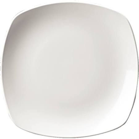 Churchill Plain Whiteware x Squared Plates 252mm W889 (Box of 12)