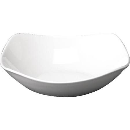 Churchill Plain Whiteware x Squared Bowls 235mm W578 (Box of 12)