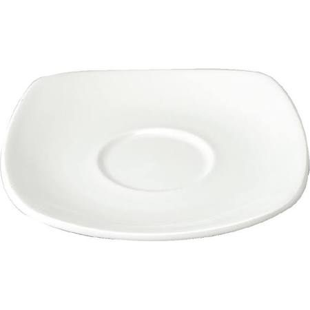 Churchill Square Cafe Latte Saucers 160mm Y617 (Box of 12)
