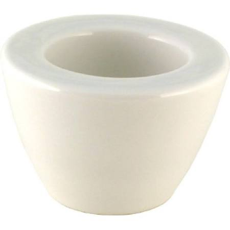 Churchill Voyager Comet Candle Holders White 28mm P456 (Box of 6)
