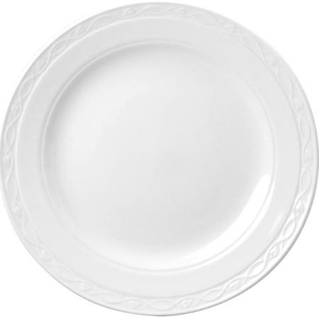 Churchill Chateau Blanc Oval Plates 355mm - M554 (Box of 12)