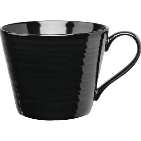 Art De Cuisine Rustics Black Snug Mugs 341ml GF704 (Box of 6)