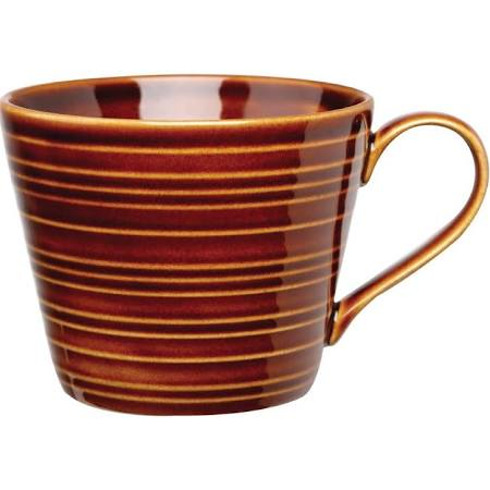 Art De Cuisine Rustics Brown Snug Mugs 341ml (Box of 6)