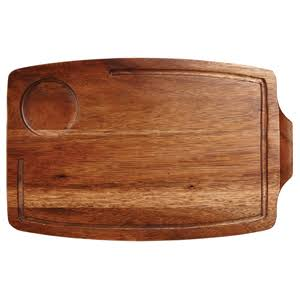 Art De Cuisine Wooden Serving Board 34cm - x 6 - Wooden Food Boards (Box of 6)