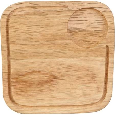 "Churchill Rustics Square Oak Board 25.5 x 25.5cm 10"" (Box of 4)"