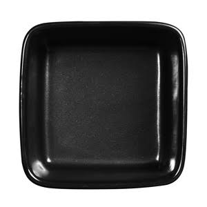 13cm Art De Cuisine Rustics Simmer Black Square Deli Dish (Box of 6)