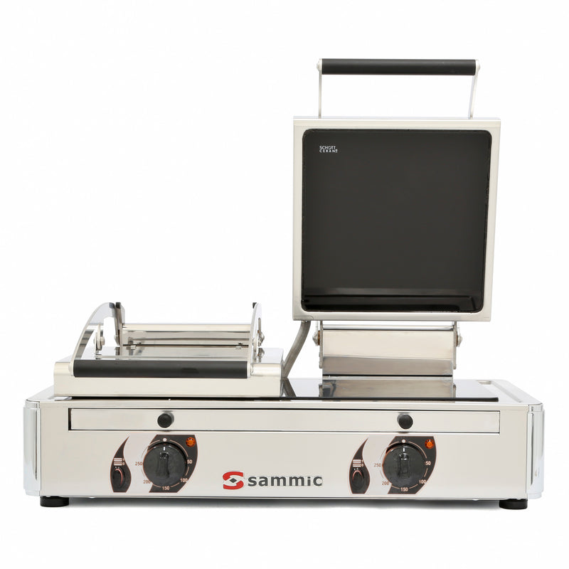 Sammic Vitro grill GV-10LA 230/50-60/1 (smooth - ribbed)