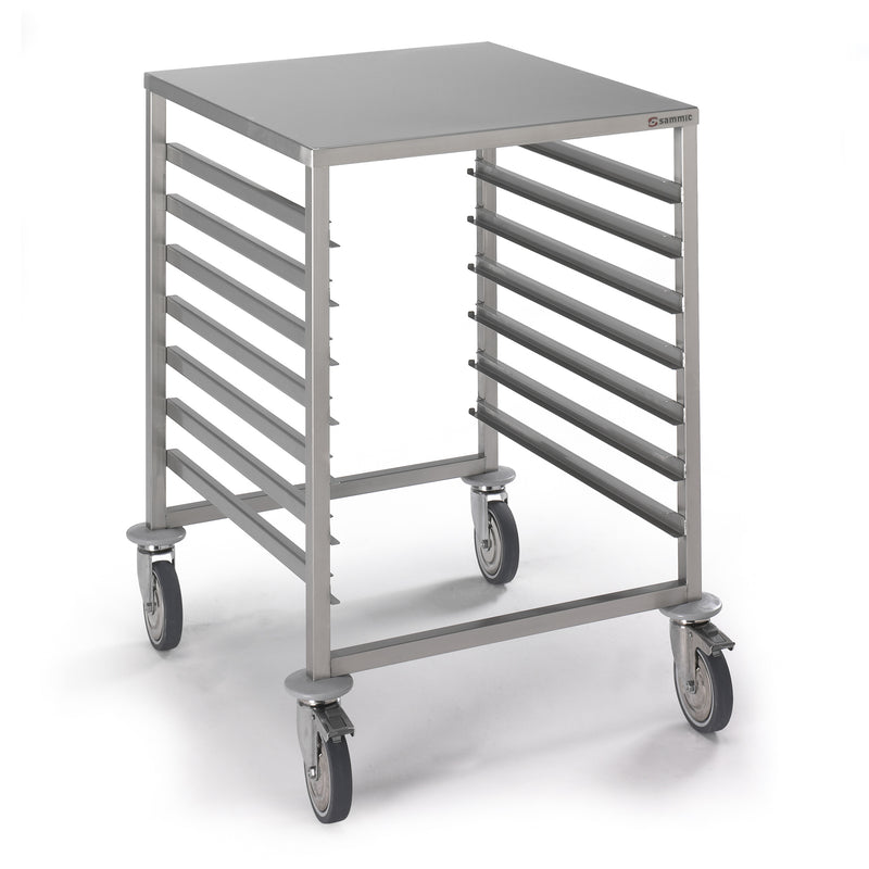 Sammic Trolley for GN trays with worktop 7xGN1/1 CG-711