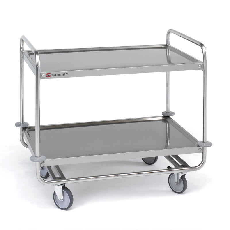 Sammic Extra strong transport trolley (2 shelves) 1000x600 CSR-210