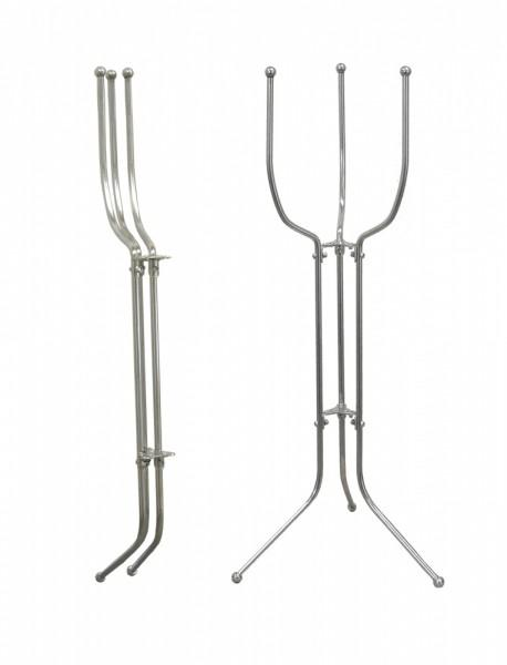 Stainless Steel Space-Saving  Folding Bucket Stand