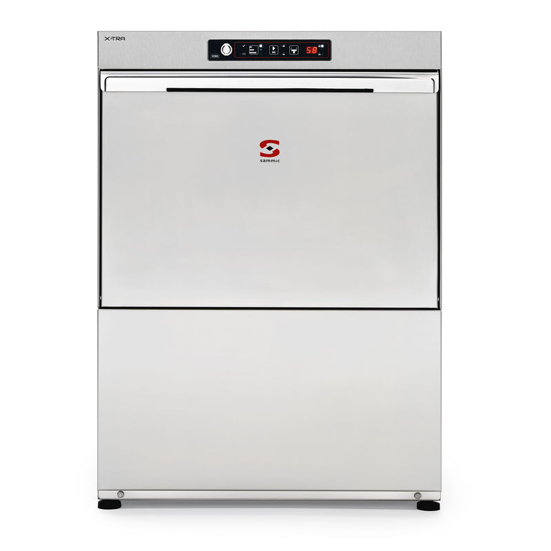 Sammic Dishwasher X-50BD 230/50/1 DD (built-in water softener and drain pump)