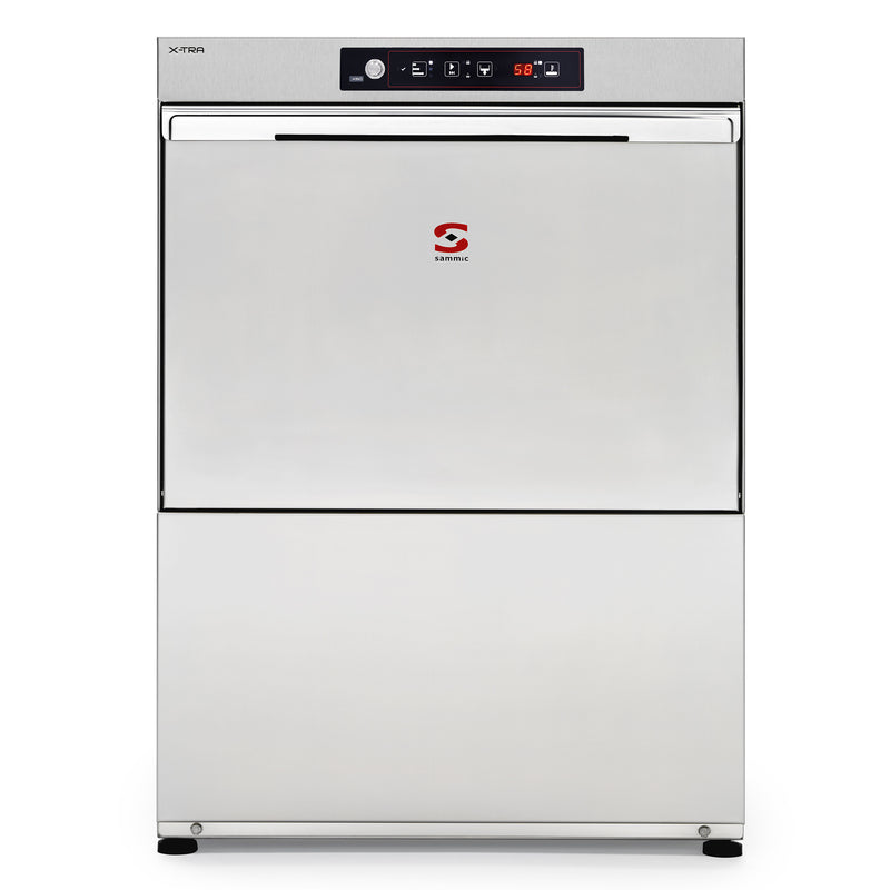 Sammic Dishwasher X-60B 400/50/3 DD (with drain pump)