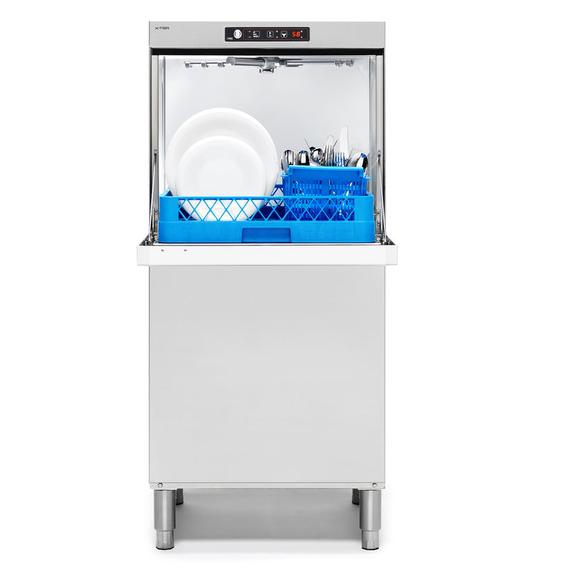Sammic Dishwasher X-80B 230/50/1 DD (with drain pump)