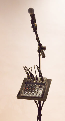 Custom Holders for Mixers, Loopers, Vocalizers etc...