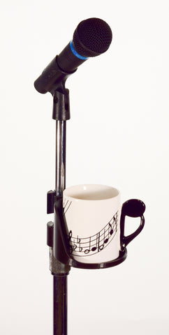 Mic Stand Coffee Cup Holder