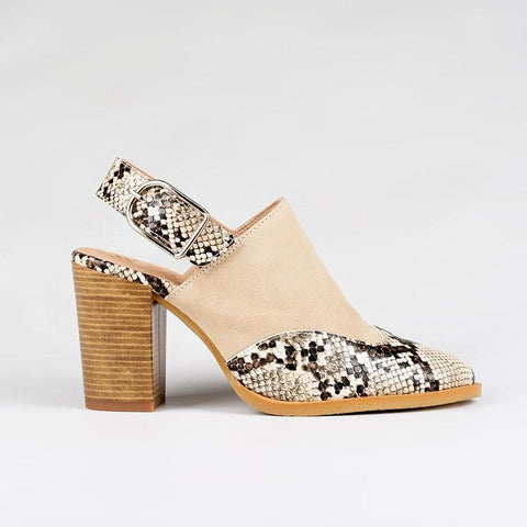 zapatos mujer reptil