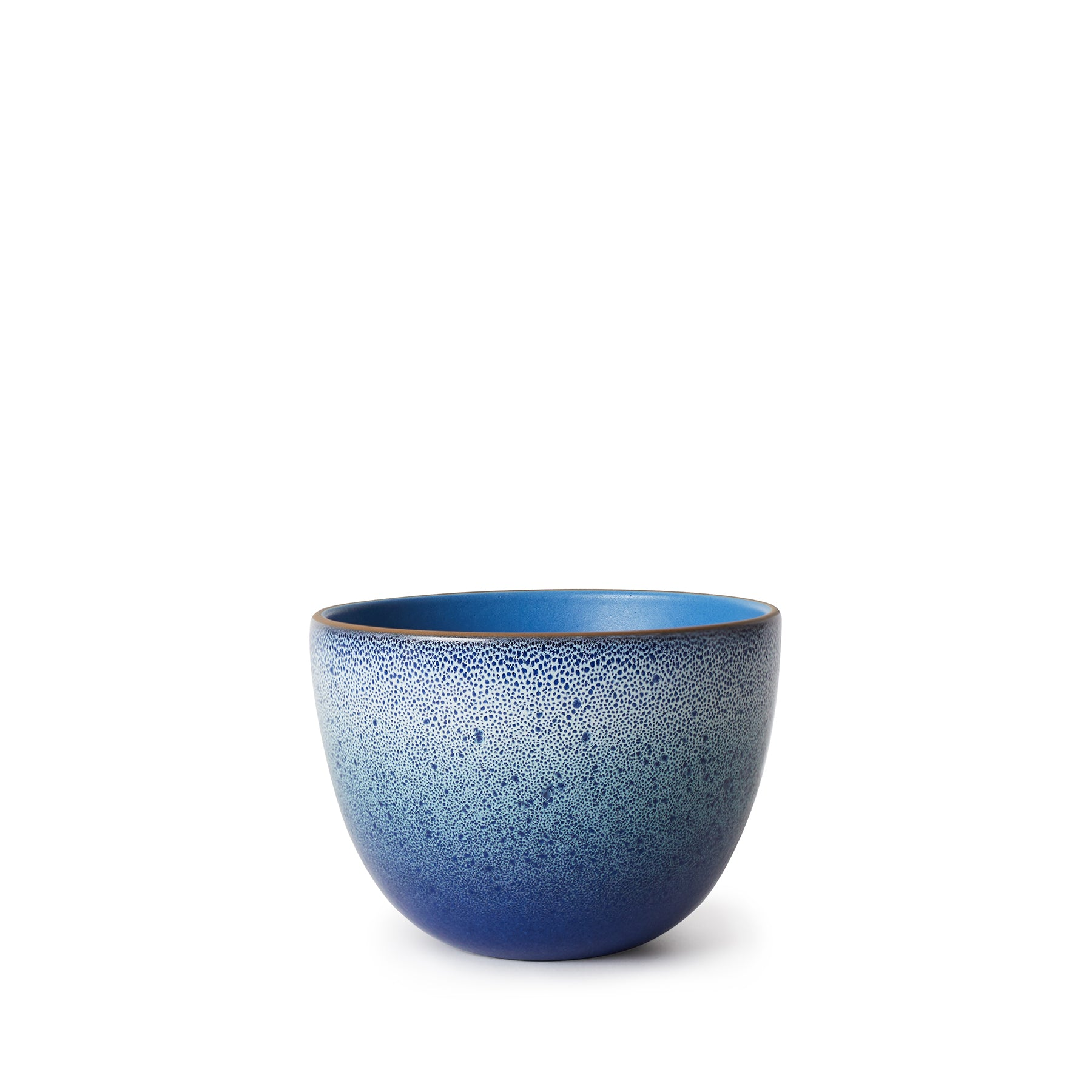 Deep Serving Bowl in Bright Blue/Moonstone Horizon Zoom Image 1