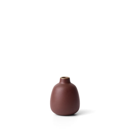 Bud Vase in Black Plum