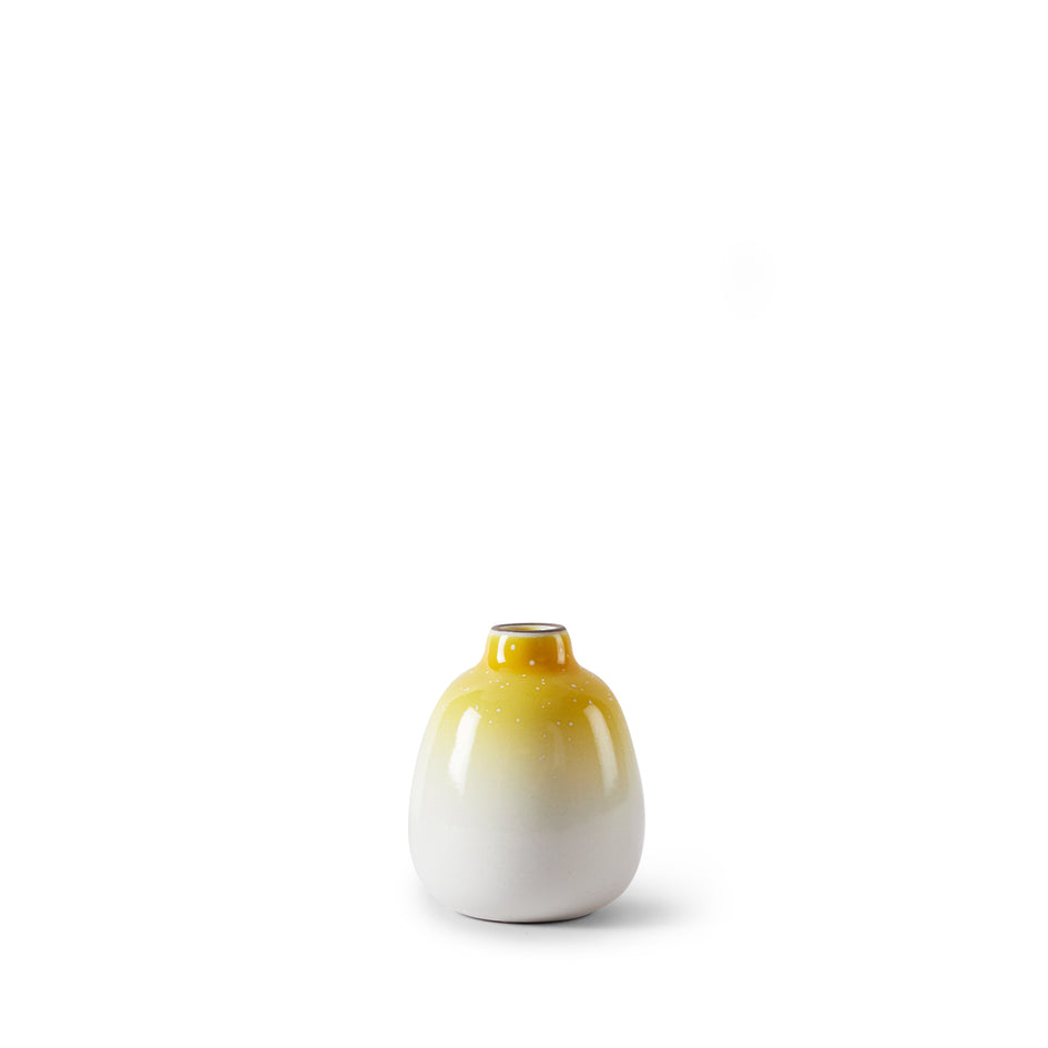 Bud Vase in Yuzu Medium Gradient Image 1