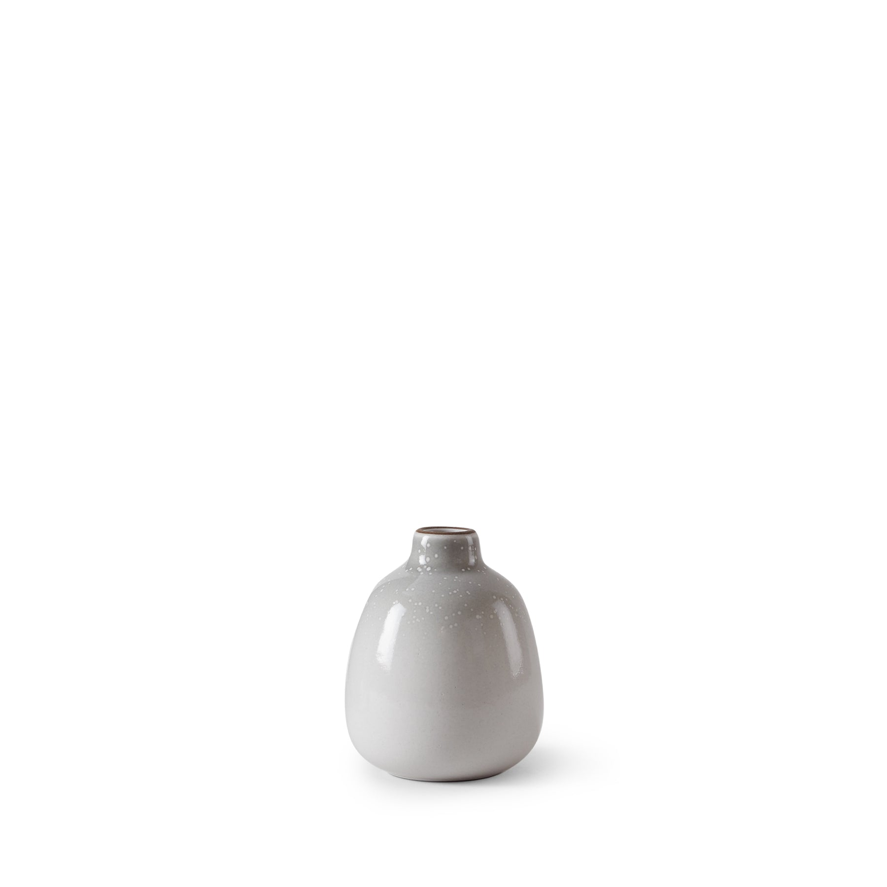 Bud Vase in Light Grey Whale Gradient Zoom Image 1