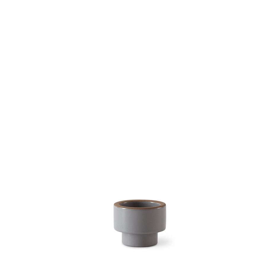 Candleholder in Light Grey Whale Image 1