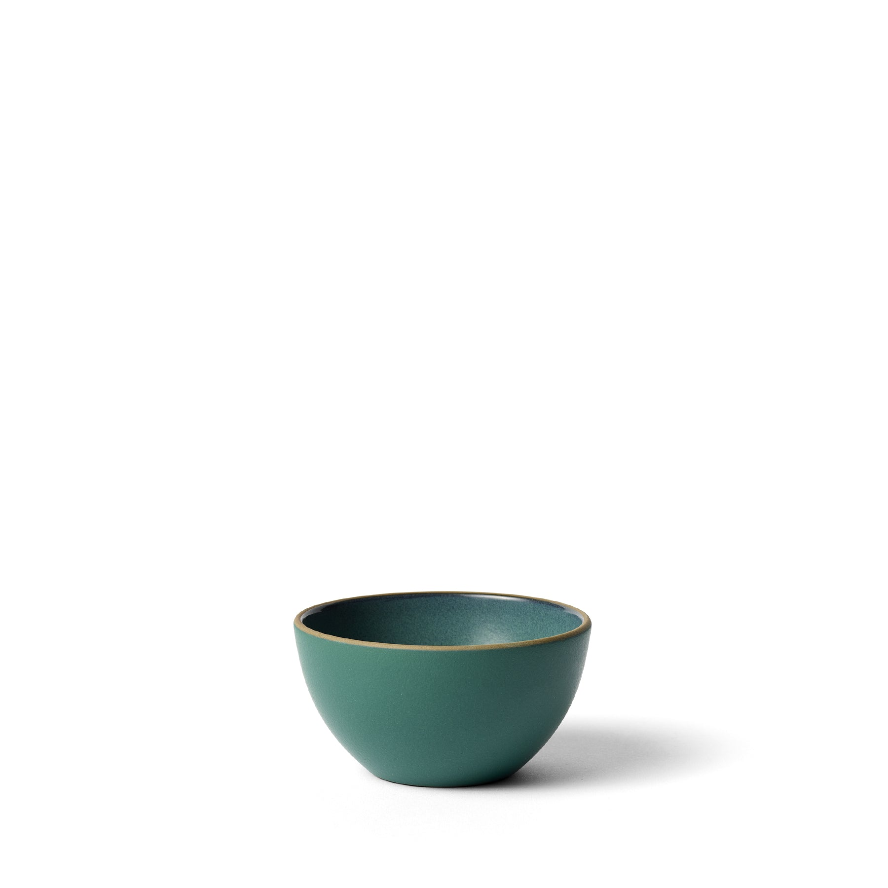 Dessert Bowl in Emerald Gloss/Emerald Zoom Image 1