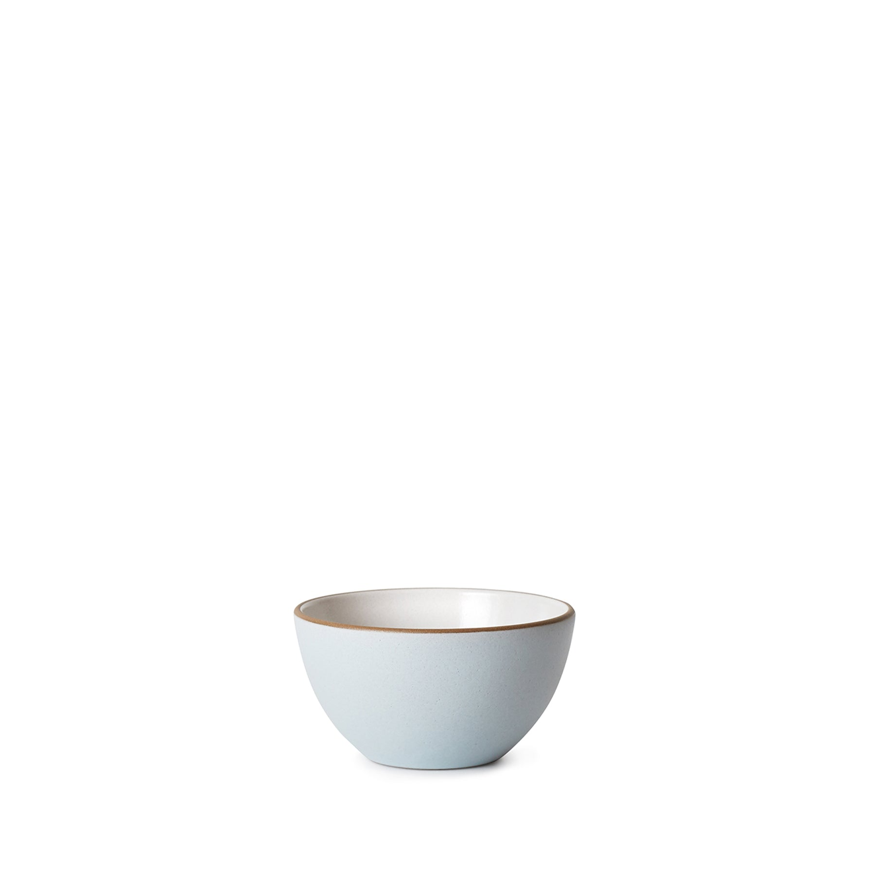 Dessert Bowl in Opaque White/Glacier Zoom Image 1