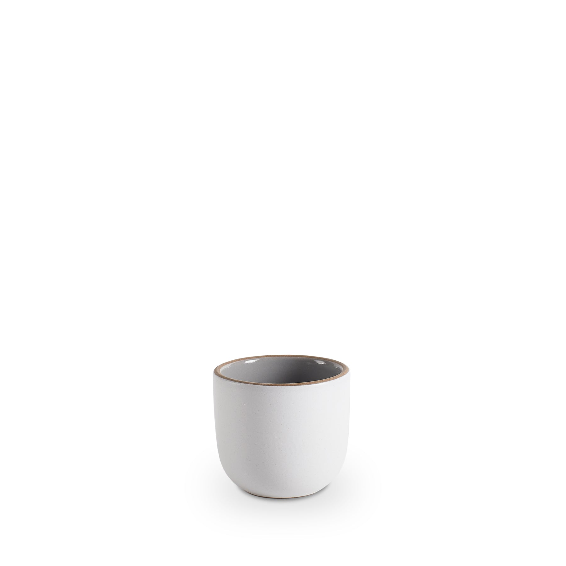 Small Modern Cup in Light Grey Whale/Chalk Zoom Image 1