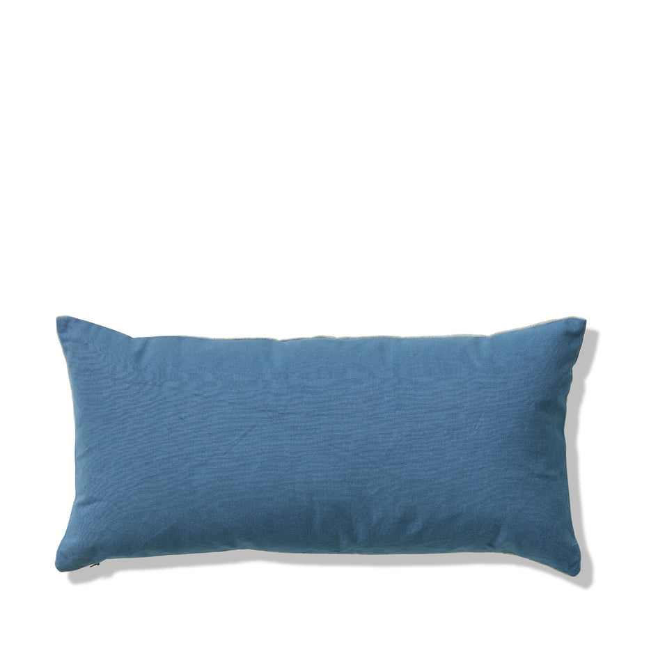 Chalk and Sturdy Girl Pillow in Brooke and Blue Hen Zoom Image 2