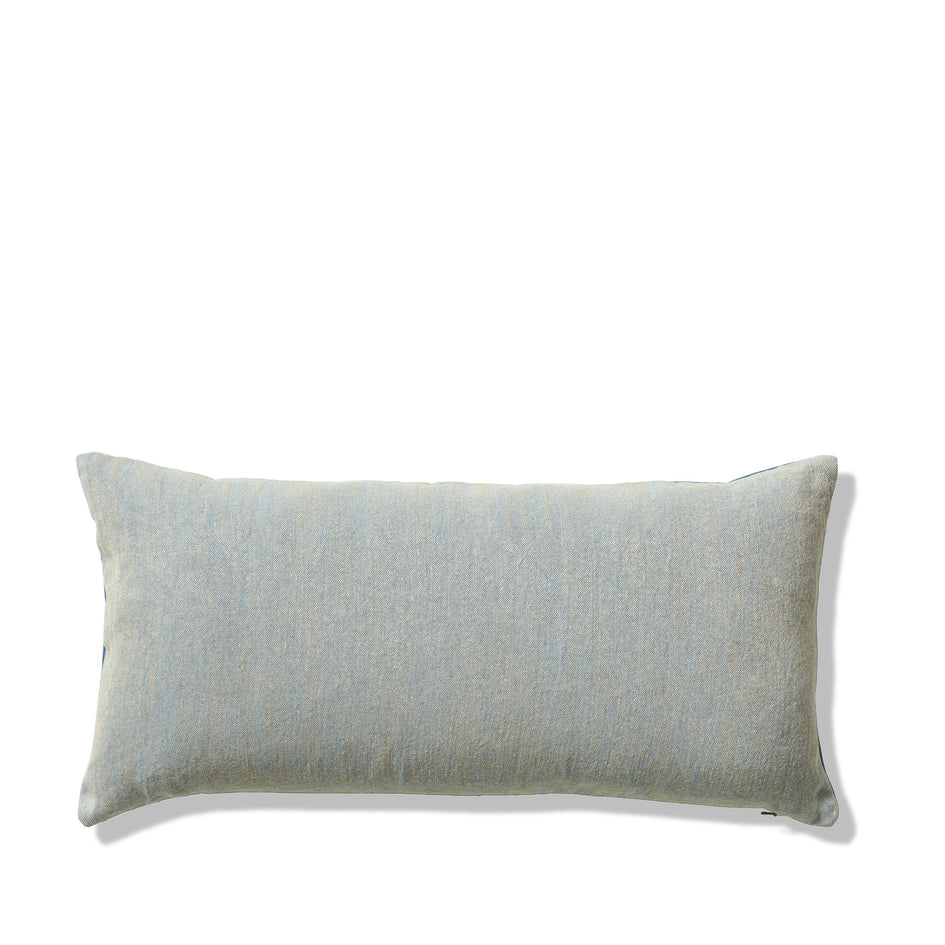Chalk and Sturdy Girl Pillow in Brooke and Blue Hen Image 1