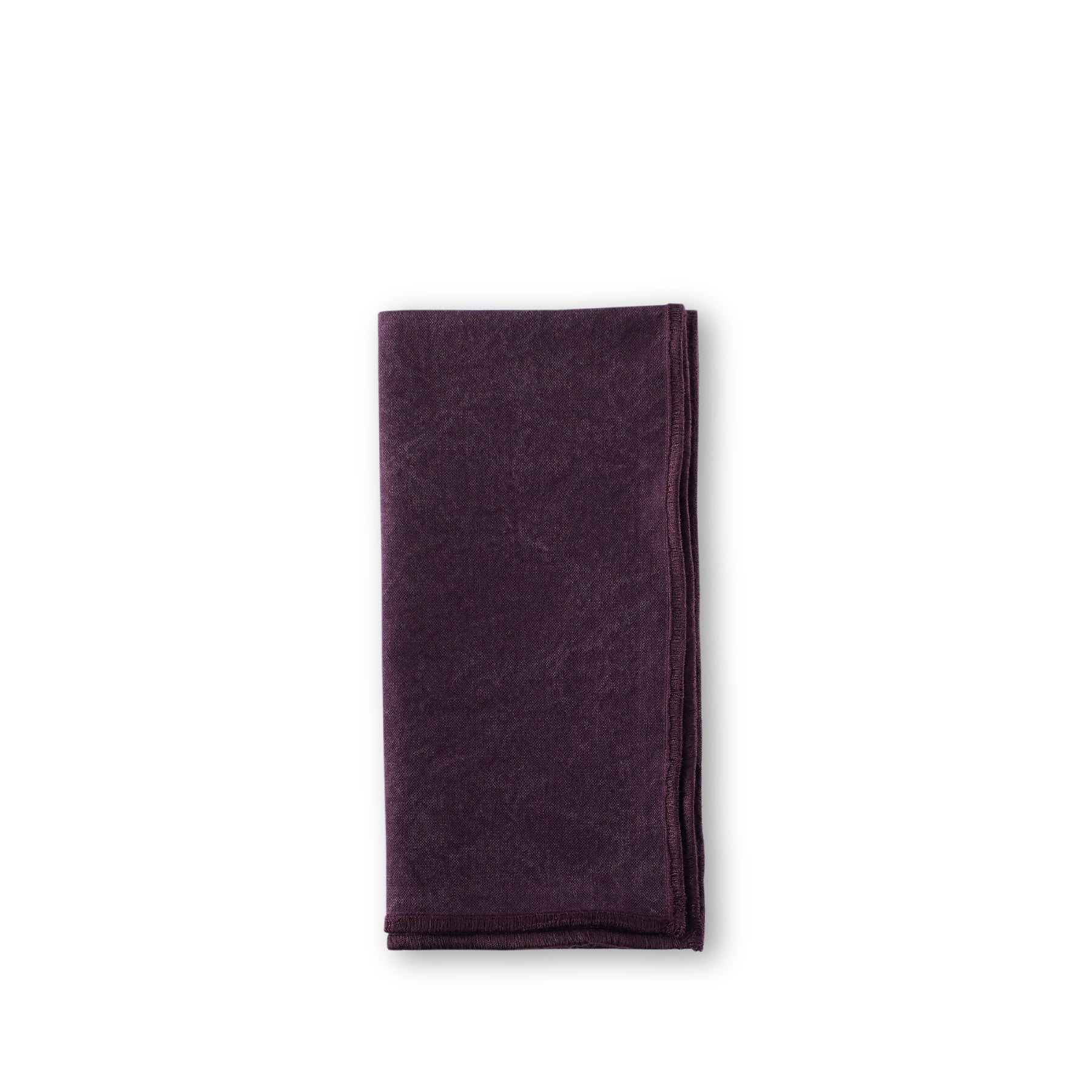 Sturdy Girl Napkin in Black Currant Zoom Image 1