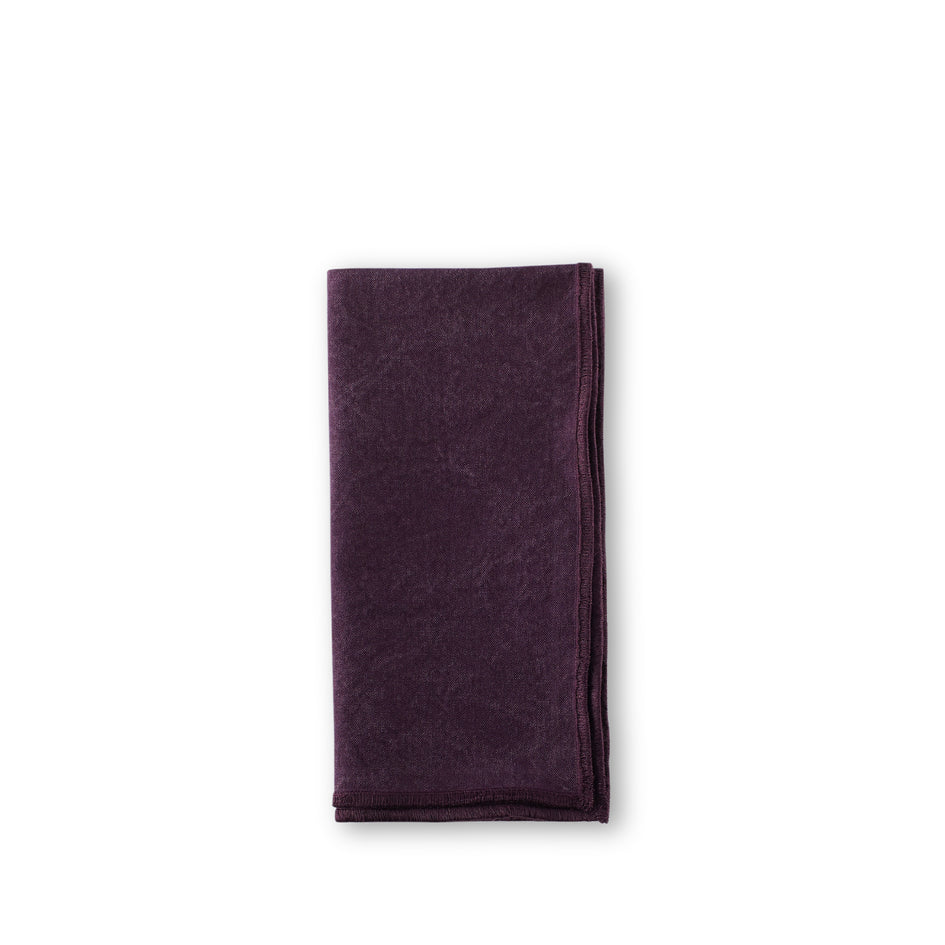 Sturdy Girl Napkin in Black Currant Image 1