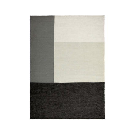 Wool Fold Rug in Coal