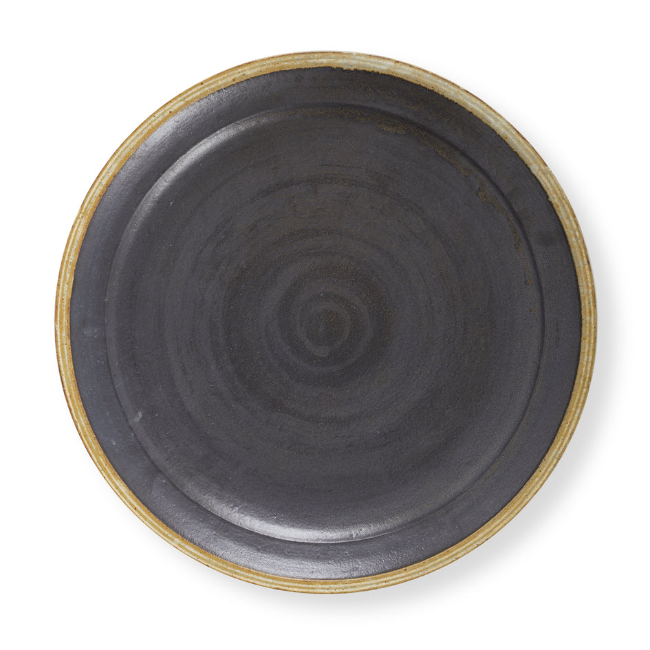 #59 Large Platter in Black Image 2
