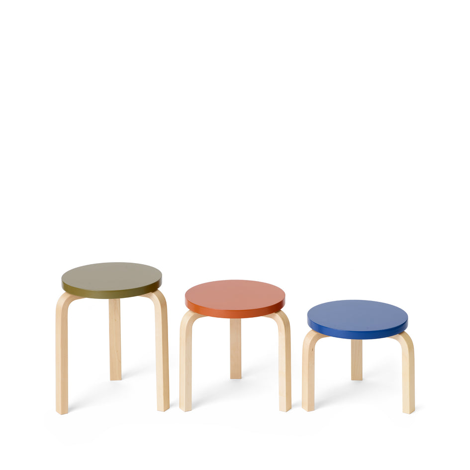 Stool 60 Low in Moonstone Image 6