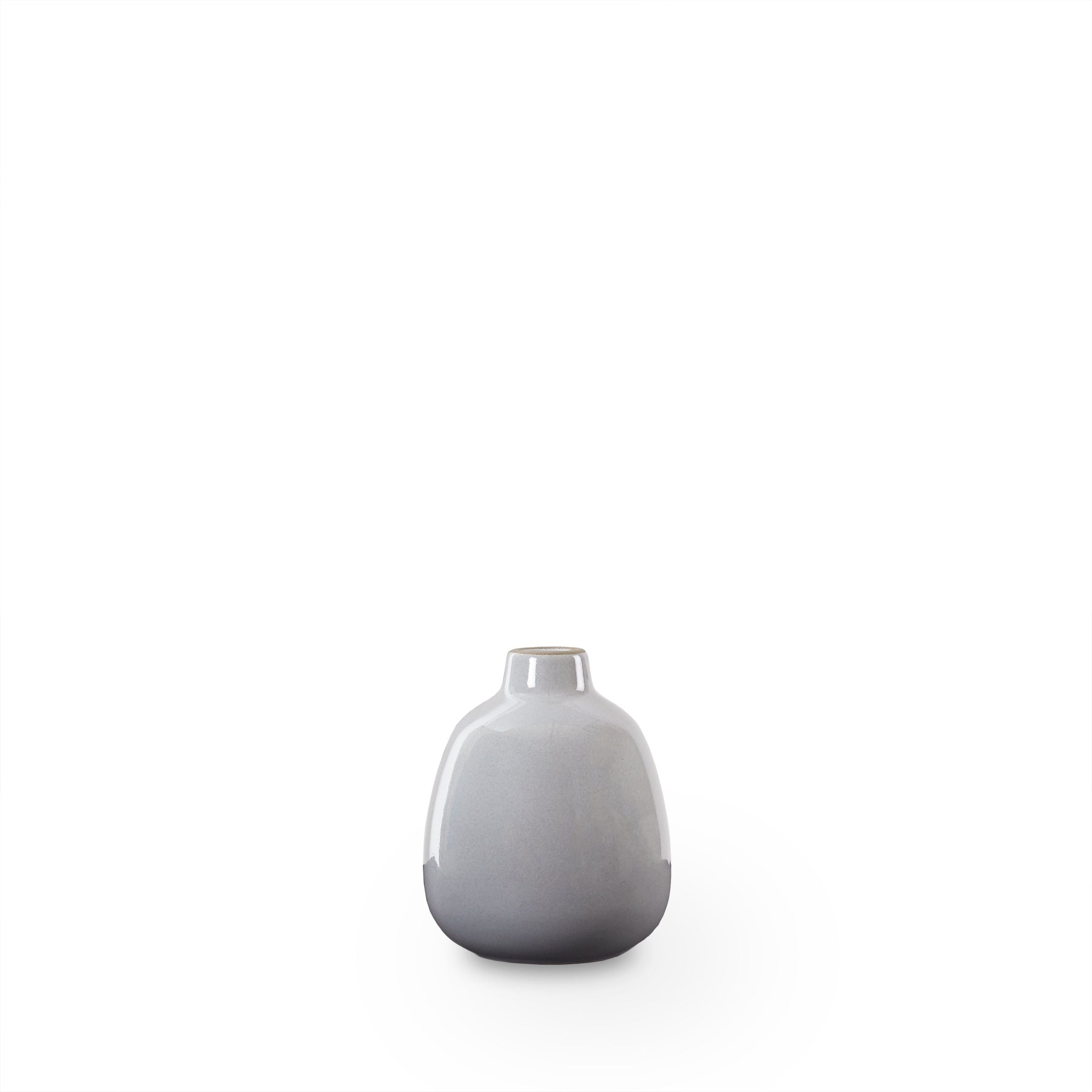 Bud Vase in Light Grey Whale Zoom Image 1