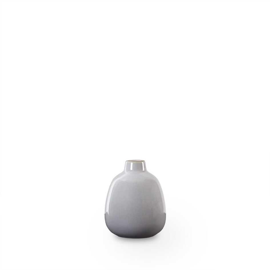 Bud Vase in Light Grey Whale Image 1