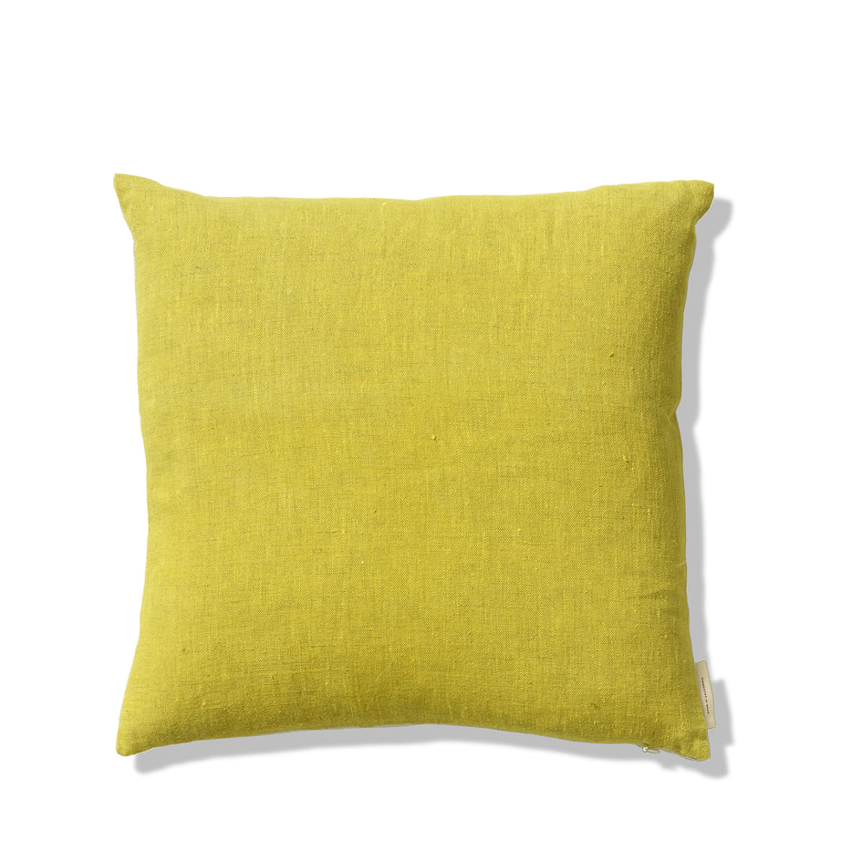 Handpainted Pillow in Citrus Zoom Image 2
