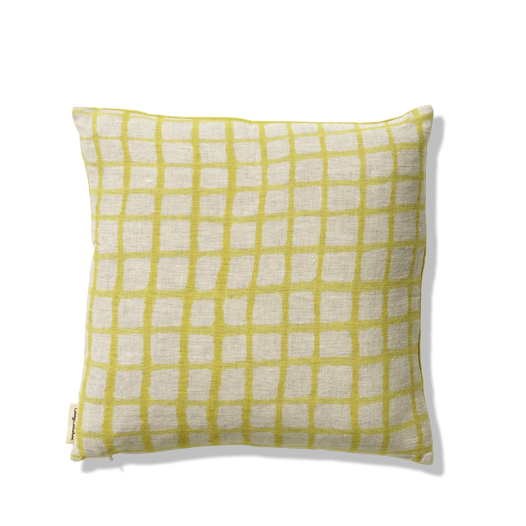 Handpainted Pillow in Citrus Zoom Image 1