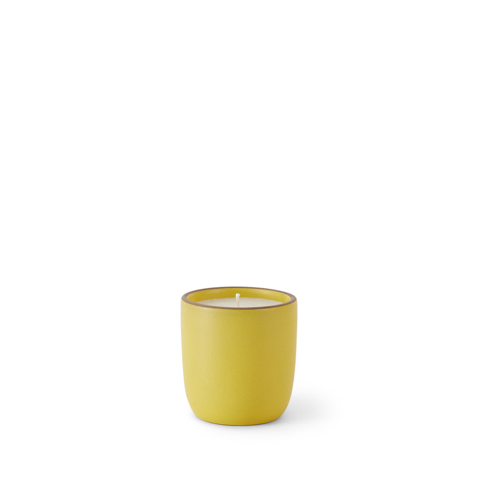 Lavender and Eucalyptus Candle in Lemongrass Cup Image 1