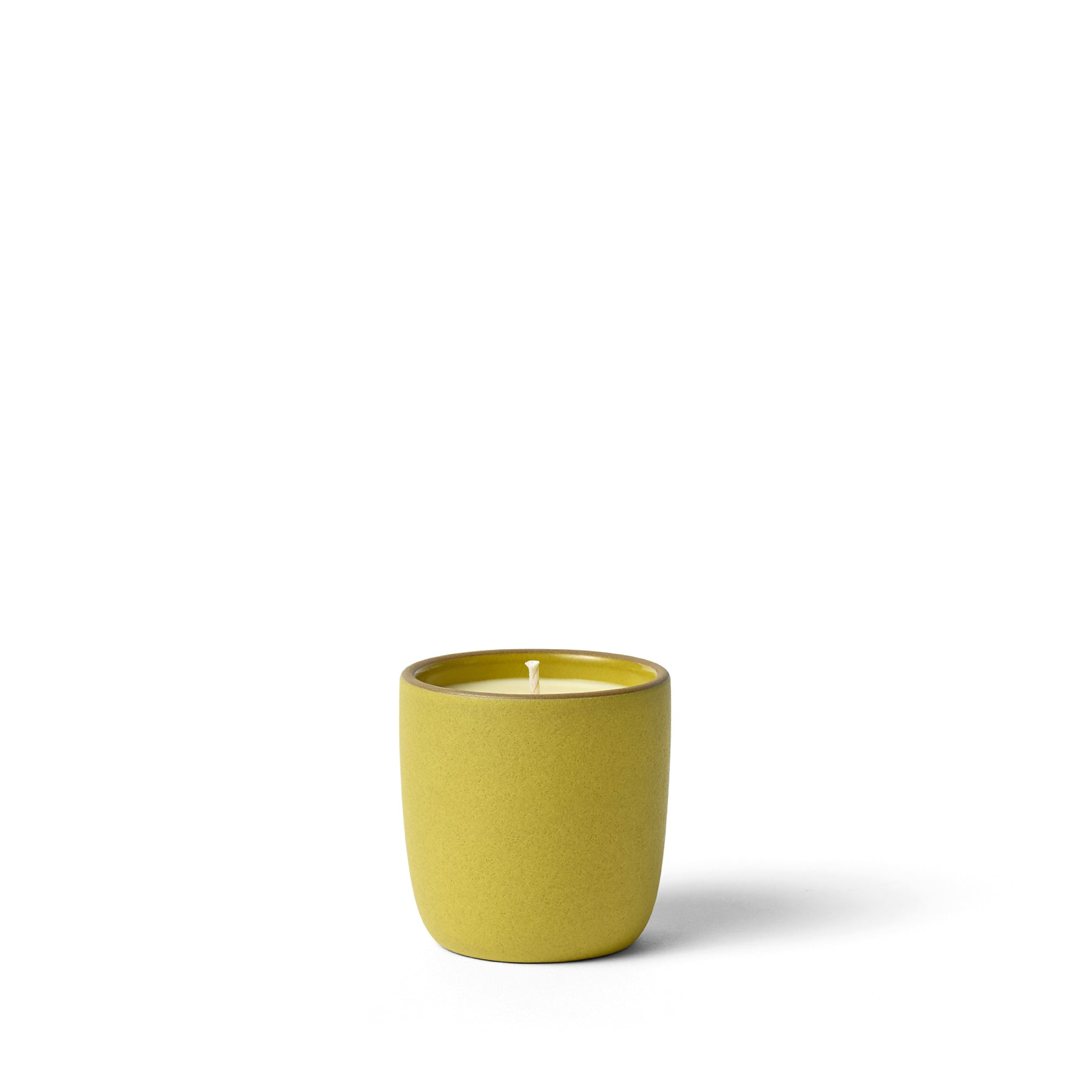 Clary Sage and Lemon Candle in Canary Zoom Image 1