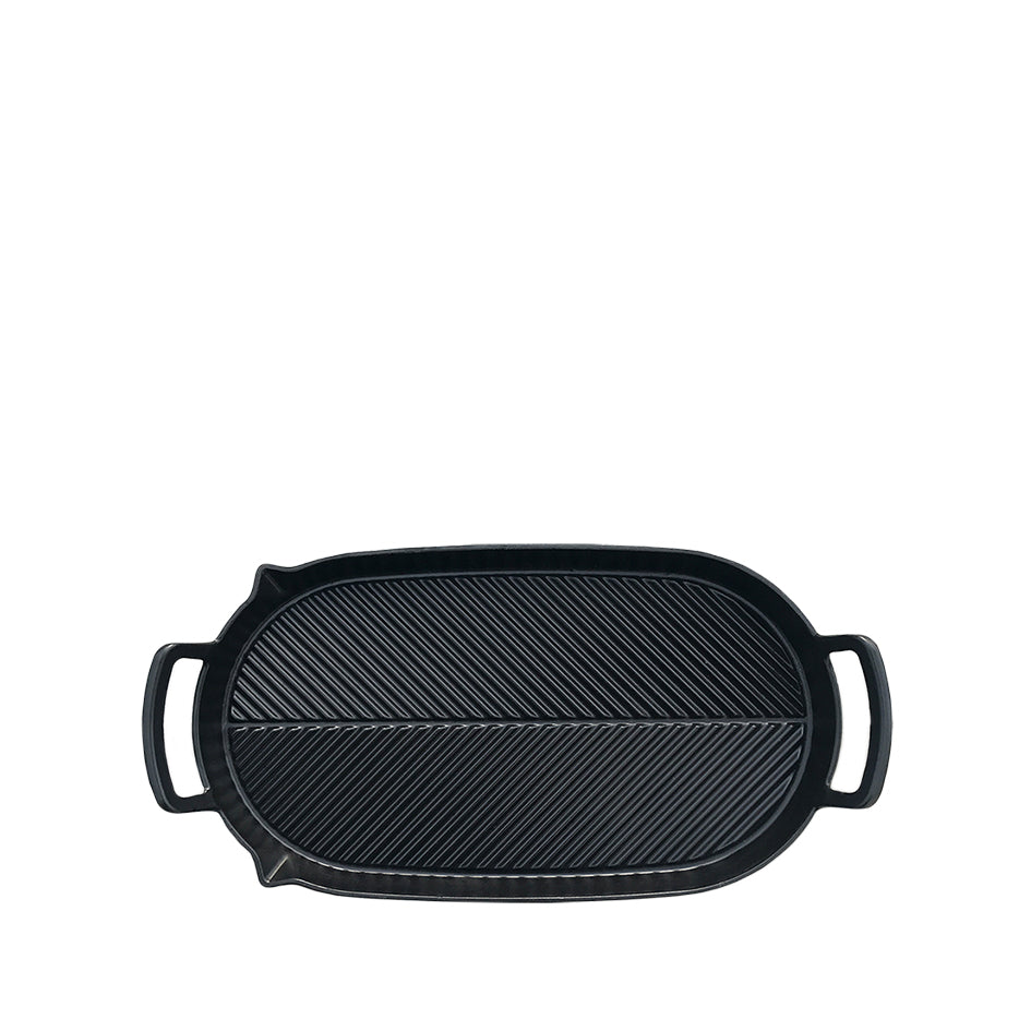 Cast Iron Two Hob Griddle Image 2