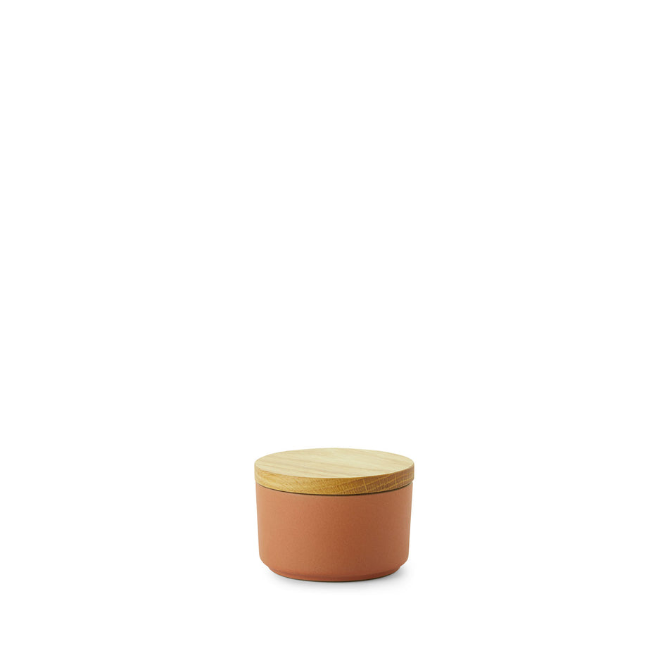 Mini Container with Wood Lid in Desert Image 1